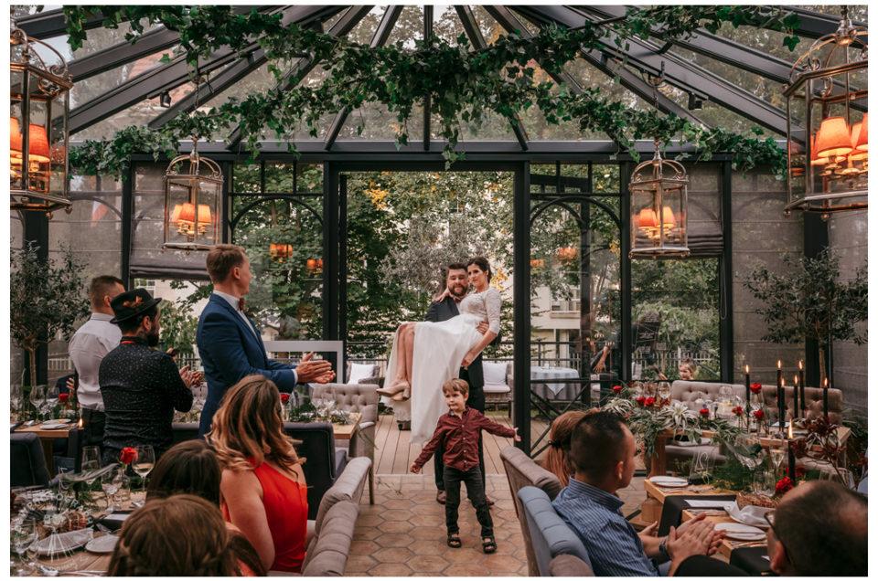 Piękny Plenerowy Ślub w Restauracji L'Entre Villes Sopot